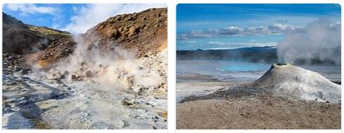 Geysers, Fumaroles - Volcanic aftermath in Iceland