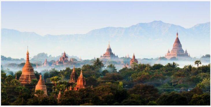 Myanmar - The plateau of Bagan