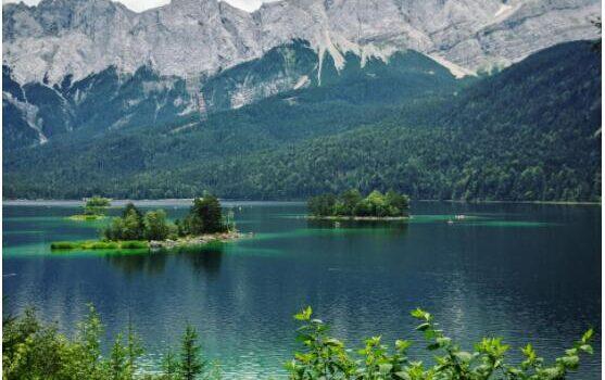 Spitzingsee lake